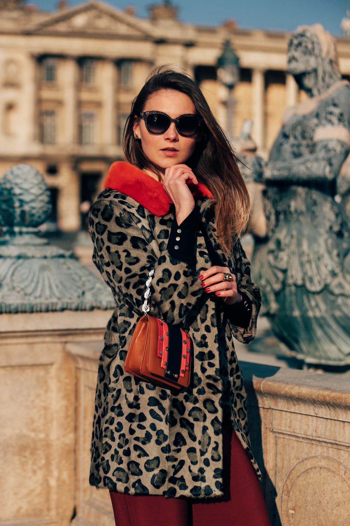 itakli leopard coat