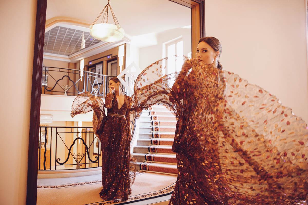 blumarine dress cannes film festival martinez angelica ardasheva